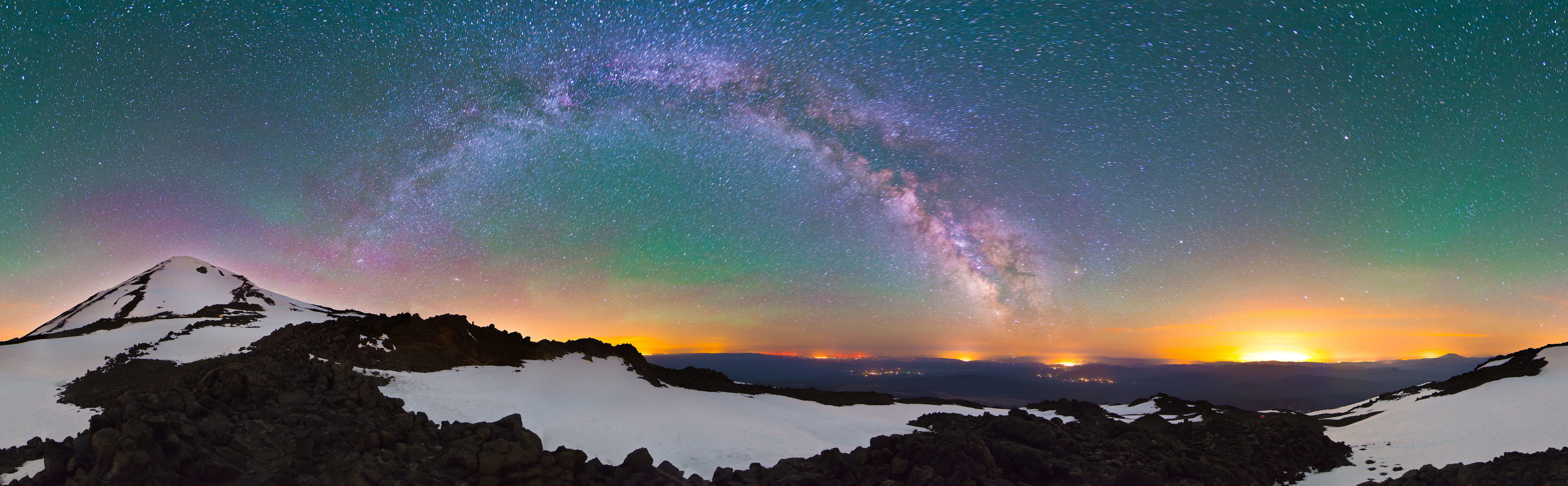 Washington - Mount Adams - Camping at Suksdorf - Darksky - 360
